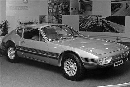 Volkswagen SP2 (1971):  Brazilian sports coupe