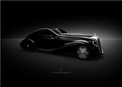 Rolls-Royce Jonckheere Aerodynamic Coupe II (2012): Ugur Sahin Design