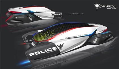 LA Design Challenge (2012): BMW Group DesignworksUSA E-Patrol (Human-Drone Pursuit Vehicle)