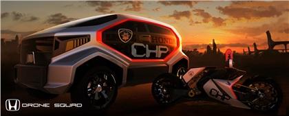 LA Design Challenge (2012): Honda CHP Drone Squad