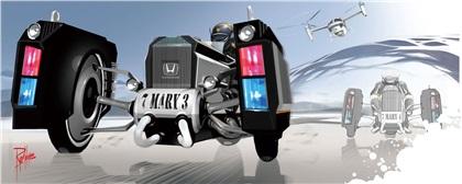 LA Design Challenge (2012): Honda CHiPs 2025 Traffic Crawler