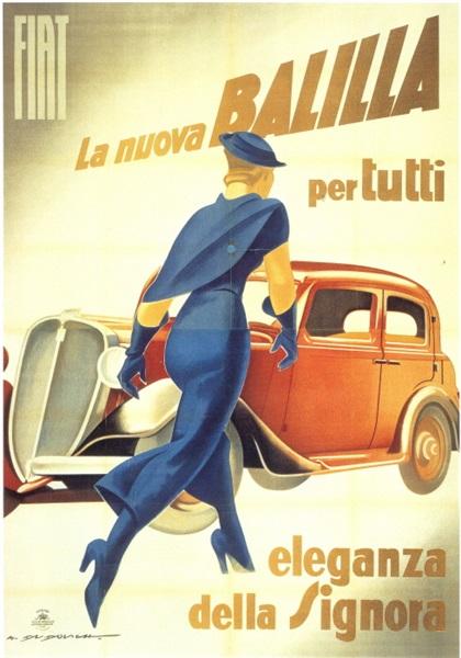 Fiat 508 Balilla (1934): Элегантность синьоры