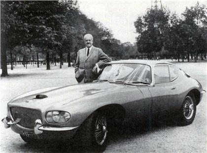 Jaguar XKE Coupe (1966): Raymond Loewy