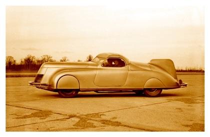 Dan LaLee's Сar (1938): Streamlined Retractable Hardtop