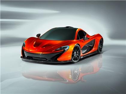 McLaren P1 Design Study (2012)