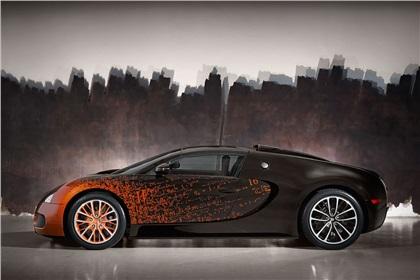 Bugatti Veyron Grand Sport Venet Art Car (2012): Самое быстрое произведение искусства на колёсах