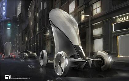 LA Design Challenge (2013): Toyota e-grus