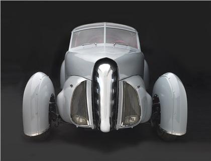 Tasco Prototype by Gordon Buehrig (1948): Part Plane, Part Car