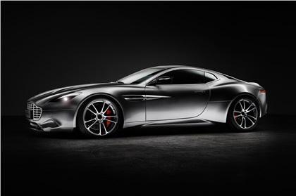 Aston Martin Vanquish V12 'Thunderbolt' (2015): One-Off designed by Henrik Fisker