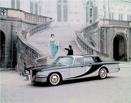 Scimitar (1959): Aluminum prototypes designed by Brooks Stevens