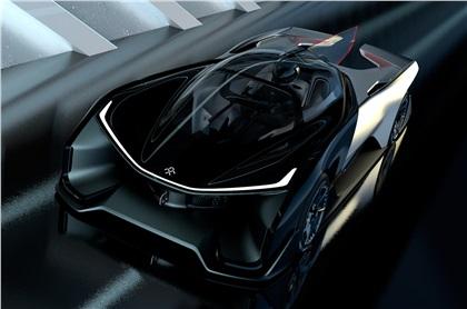 Faraday Future FFZERO1 (2016): 1000-сильный электрокар