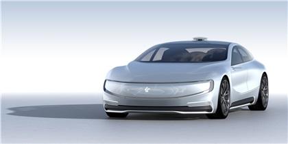 LeEco LeSEE (2016): Будущий соперник Tesla Model S