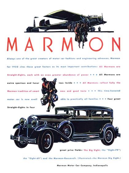 Marmon Advertising Art (1930)