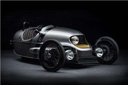 Morgan EV3 (2016): Retro-futuristic electric 3-wheeler