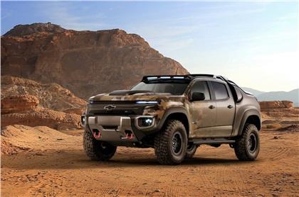Chevrolet Colorado ZH2 (2016): Водородный пикап для армии США