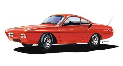 КД / Спорт-900 (1963-1969): Спортивное купе с кузовом из стеклопластика