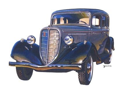 Рисунки из журнала за рулем
