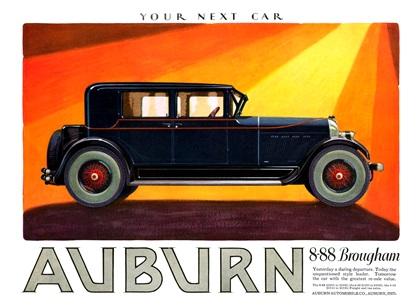 Auburn Advertising Campaign (1927)