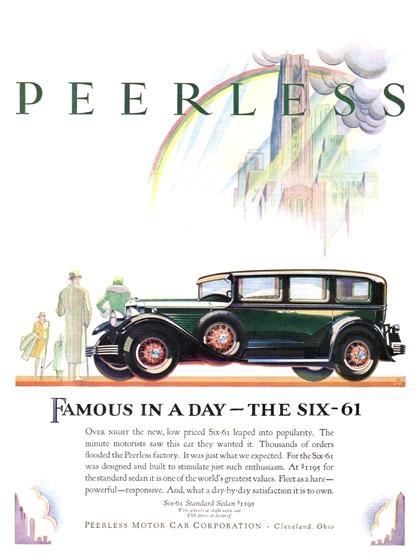 Peerless Advertising Campaign (1929)