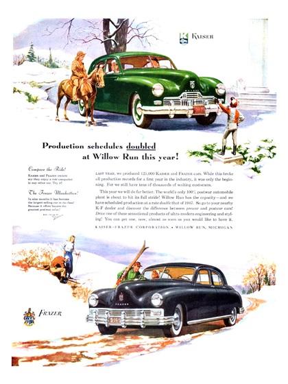 Kaiser-Frazer Advertising Campaign (1948)
