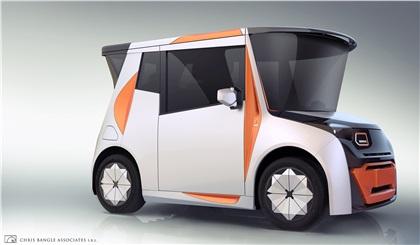 REDS EV (2017): Chris Bangle's Idea For A Chinese City Car