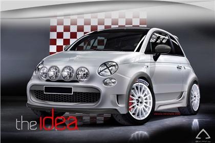 Fiat 500 Marcia Corta by Camal (2011)