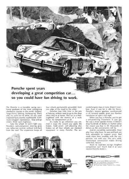 Porsche Advertising Campaign (1968)
