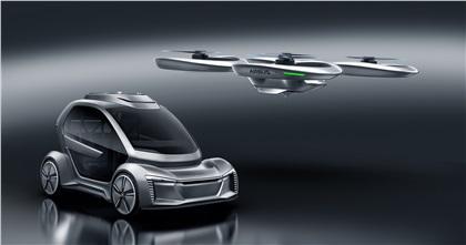 Audi/Airbus/ItalDesign Pop.Up Next (2018): Flying Car Concept