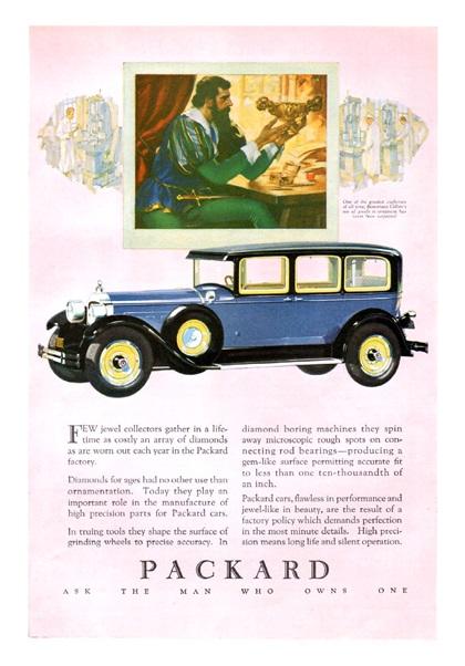 Packard Advertising Art (1927–1928)