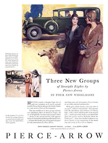Pierce-Arrow Advertising Campaign (1930)