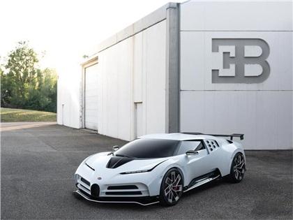 Bugatti Centodieci (2019): EB110 SS Hommage