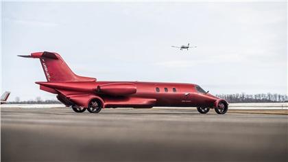 Limo-Jet 'Learmousine': Лимузин-самолет