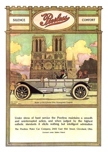 Peerless Advertising Campaign (1911–1912)