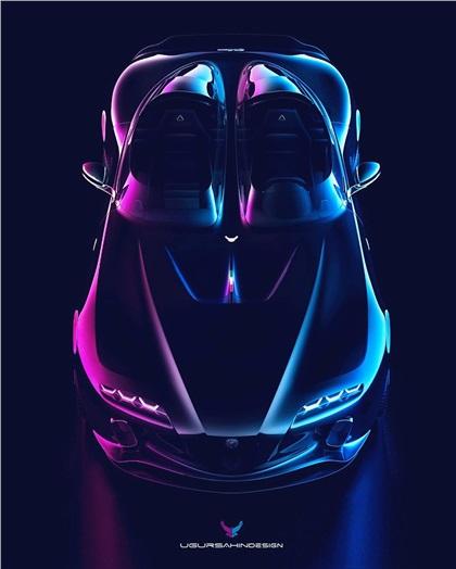Alfa Romeo Barchetta by Ugur Sahin Design (2020)