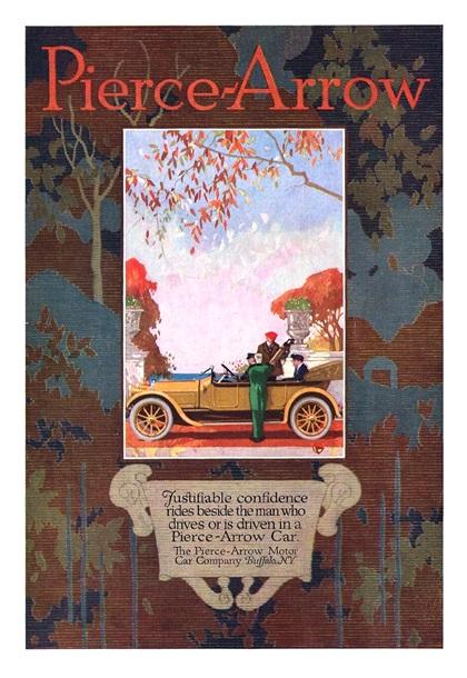 Pierce-Arrow Advertising Campaign (1915–1916)