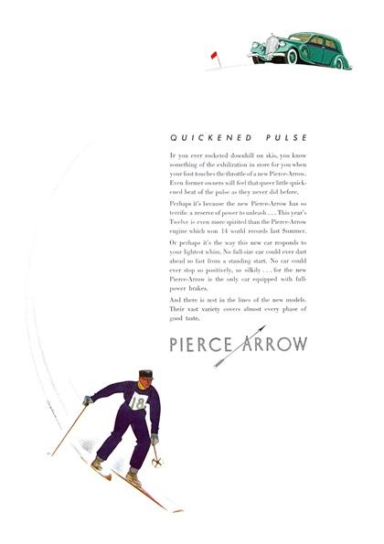 Pierce-Arrow Advertising Campaign (1934)