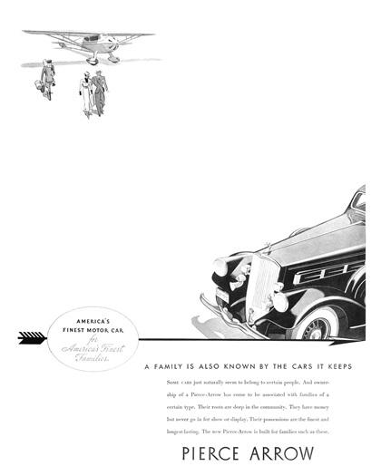 Pierce-Arrow Advertising Campaign (1935)