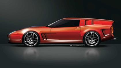 Ferrari Breadvan Homage by Niels van Roij Design (2021)