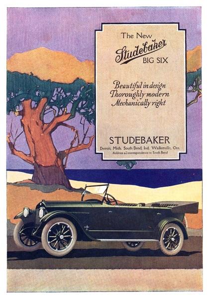 Studebaker Advertising Art (1918)