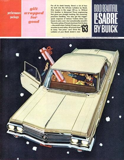 Buick LeSabre Advertising Art (1963)