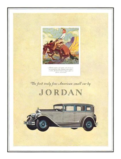 Jordan Advertising Campaign (1927)