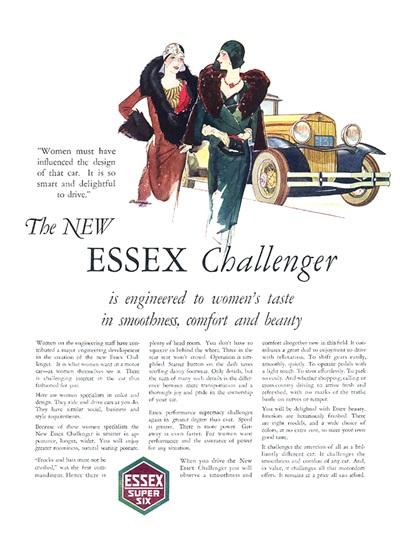 Essex Advertising Art (1930)