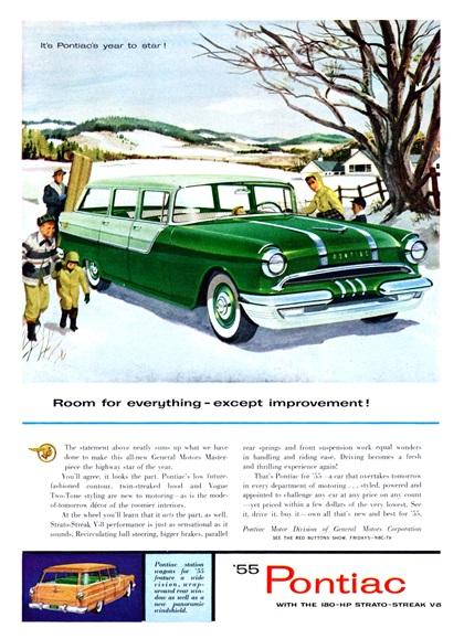 Pontiac Advertising Campaign (1955)