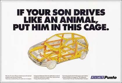 1999 Fiat Punto - Cage