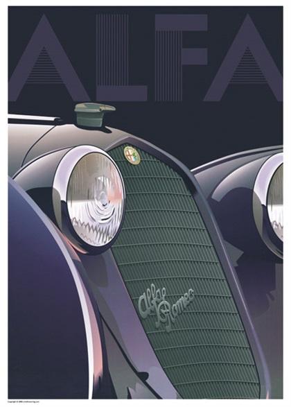 Alfa Romeo 8C 2900 (circa 1935): ALFA