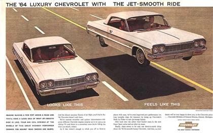 1964 Chevrolet Impala - Jet-Smooth Ride