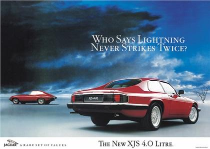 Jaguar XJS 4.0 Litre (1991): Lightning