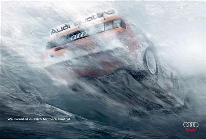 Audi Quattro (2007): Ice/Sand/Water