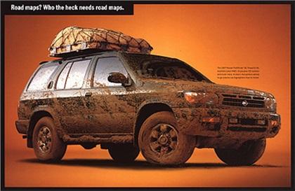 1998 Nissan Pathfinder - Road maps