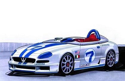 2001 Maserati 320S (ItalDesign)